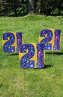 All Occasion Numbers Signs Samples