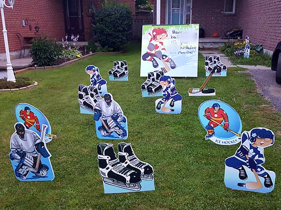 All Occasion Sports Signs Samples