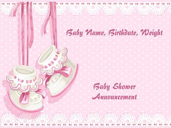 Birth announcement lawn signs